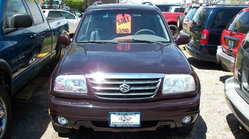 2001 Suzuki XL7 for sale at Griffon Auto Sales Inc in Lakemoor IL