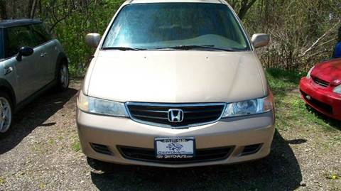 2002 Honda Odyssey for sale at Griffon Auto Sales Inc in Lakemoor IL
