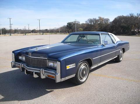 1976 Cadillac Eldorado for sale in Burnet, TX