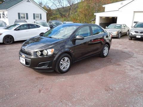 2015 Chevrolet Sonic for sale in Castleton, VT