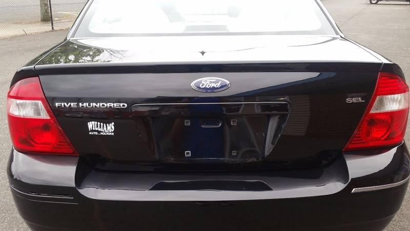2007 Ford Five Hundred SEL 4dr Sedan - Holyoke MA