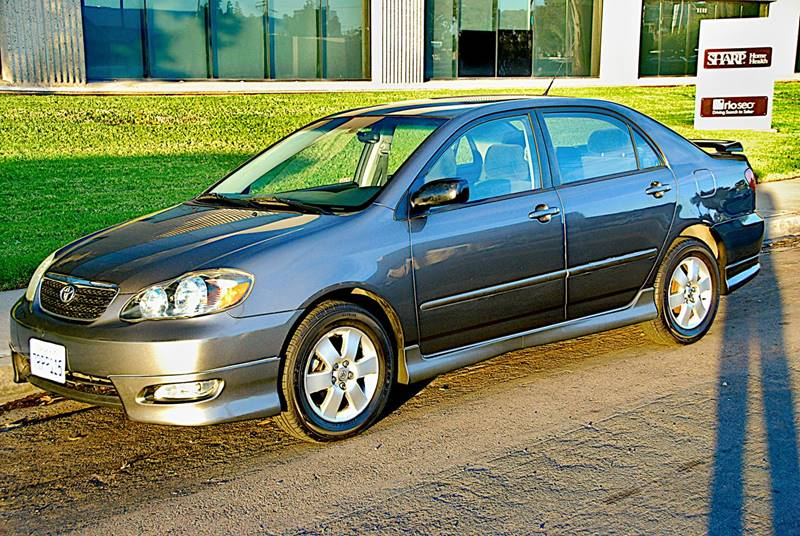 2005 Toyota Corolla S 4dr Sedan In San Diego Ca Elite Motors