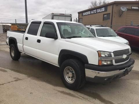 2003 Chevrolet Silverado 1500HD for sale at Sanders Auto Sales in Lincoln NE