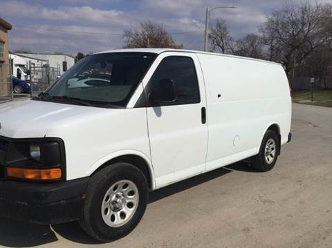 2010 Chevrolet Express Cargo for sale at Sanders Auto Sales in Lincoln NE
