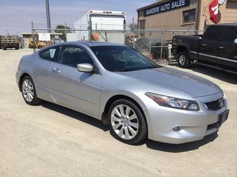 2008 Honda Accord for sale at Sanders Auto Sales in Lincoln NE