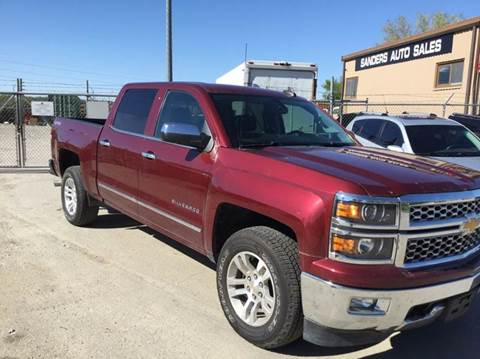 2015 Chevrolet Silverado 1500 for sale at Sanders Auto Sales in Lincoln NE