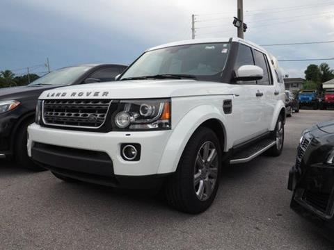 2015 Land Rover LR4 for sale in North Palm Beach, FL