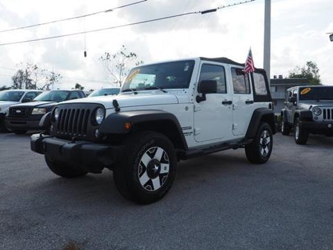 2014 Jeep Wrangler Unlimited for sale in North Palm Beach, FL
