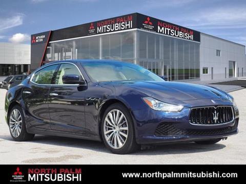 2016 Maserati Ghibli for sale in North Palm Beach, FL