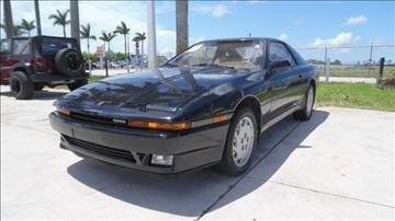 1987 Toyota Supra for sale in North Palm Beach, FL