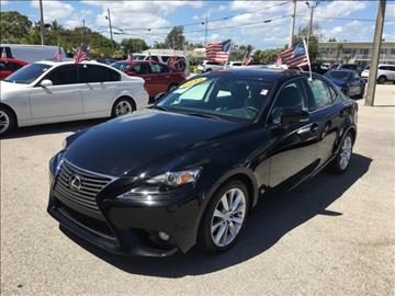 2015 Lexus IS 250 for sale in North Palm Beach, FL