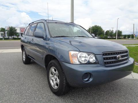 2003 Toyota Highlander for sale in Orlando, FL