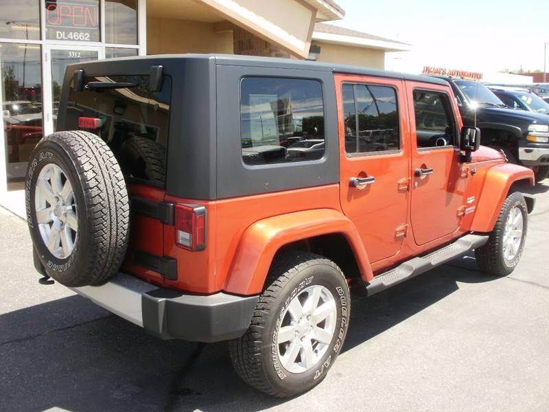 2009 Jeep Wrangler Unlimited 4x4 Sahara 4dr SUV - Ogden UT