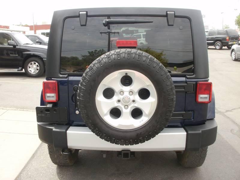 2013 Jeep Wrangler Unlimited 4x4 Sahara 4dr SUV - Ogden UT