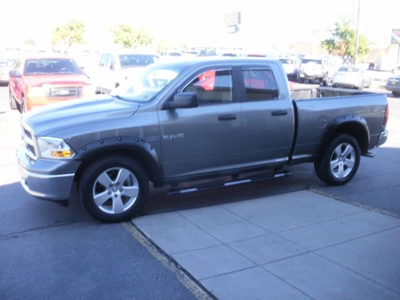 2010 Dodge Ram Pickup 1500 4x4 SLT 4dr Quad Cab 6.3 ft. SB Pickup - Ogden UT