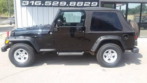 2005 Jeep Wrangler for sale in Wichita, KS