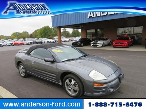 2003 Mitsubishi Eclipse Spyder for sale in Clinton, IL
