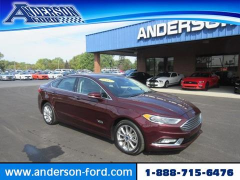 2017 Ford Fusion Energi for sale in Clinton, IL