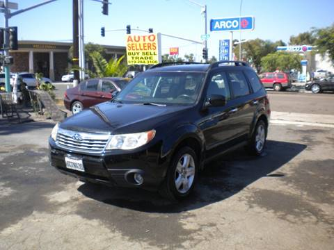2009 Subaru Forester for sale in San Diego, CA