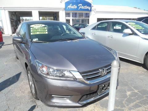 2014 Honda Accord for sale in East Providence, RI