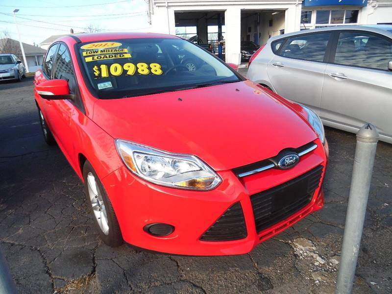 2013 Ford Focus for sale at AUTO FACTORY INC in East Providence RI