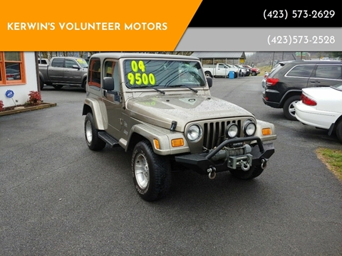 2004 Jeep Wrangler for sale in Bristol, TN