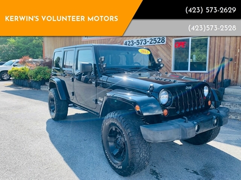 2012 Jeep Wrangler Unlimited for sale in Bristol, TN