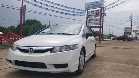 2009 Honda Civic for sale in Spring, TX