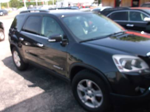 2008 GMC Acadia for sale at Bourbon County Cars in Fort Scott KS