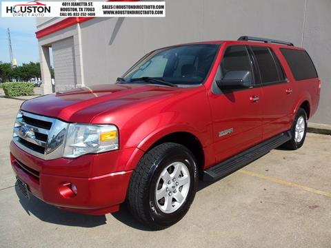 2008 Ford Expedition EL for sale in Houston, TX