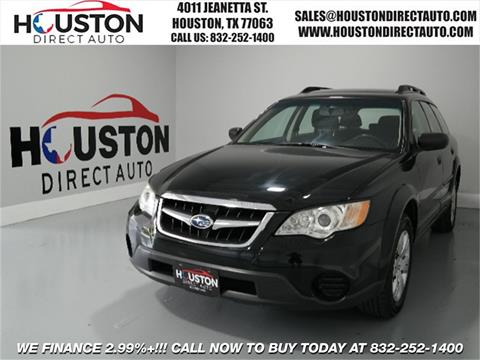 2008 Subaru Outback for sale in Houston, TX