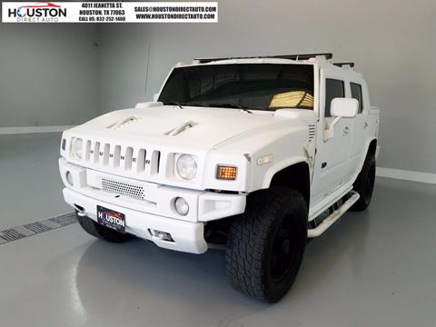 2005 HUMMER H2 SUT for sale in Houston, TX