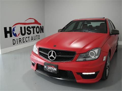2012 Mercedes-Benz C-Class for sale in Houston, TX