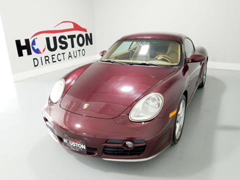 2006 Porsche Cayman for sale in Houston, TX