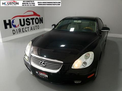 2003 Lexus SC 430 for sale in Houston, TX
