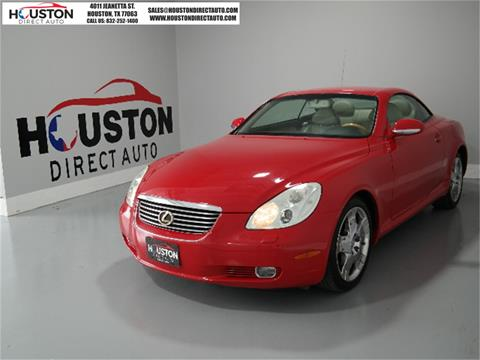 2002 Lexus SC 430 for sale in Houston, TX