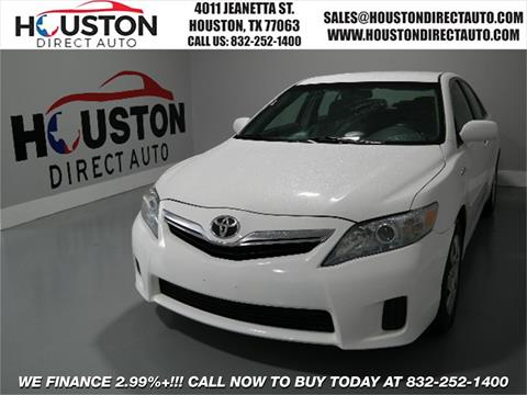 2011 Toyota Camry Hybrid for sale in Houston, TX