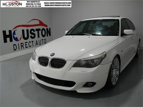 2008 BMW 5 Series for sale in Houston, TX