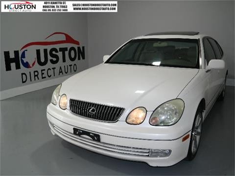 2003 Lexus GS 430 for sale in Houston, TX