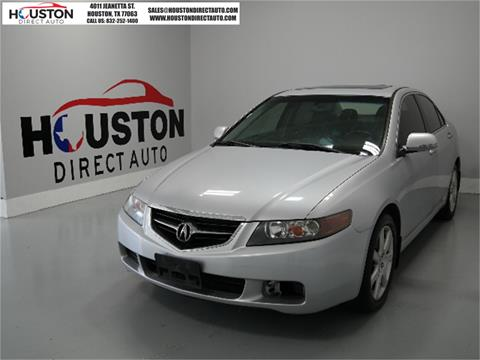 2004 Acura TSX for sale in Houston, TX