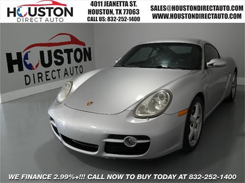 2007 Porsche Cayman for sale in Houston, TX