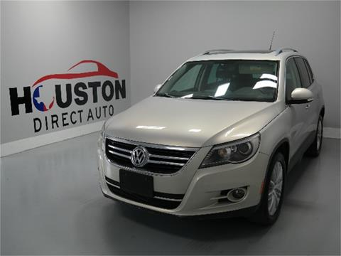 2011 Volkswagen Tiguan for sale in Houston, TX