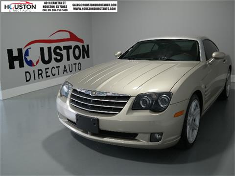 2008 Chrysler Crossfire for sale in Houston, TX