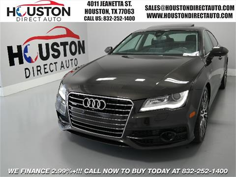 2013 Audi A7 for sale in Houston, TX