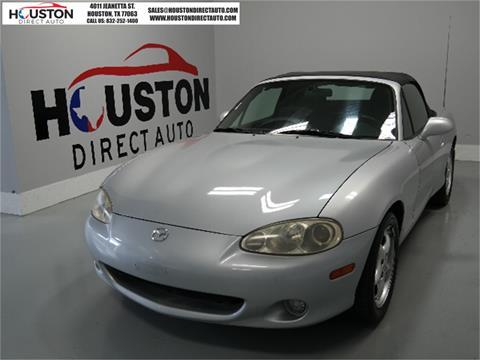 2002 Mazda MX-5 Miata for sale in Houston, TX
