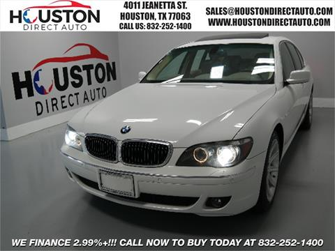 2007 BMW 7 Series for sale in Houston, TX