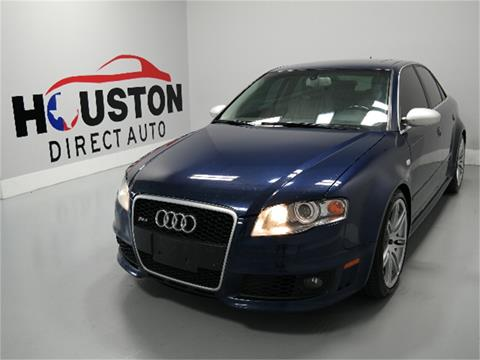 2008 Audi RS 4 for sale in Houston, TX