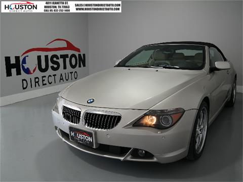 2007 BMW 6 Series for sale in Houston, TX