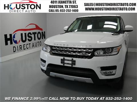 2014 Land Rover Range Rover Sport for sale in Houston, TX