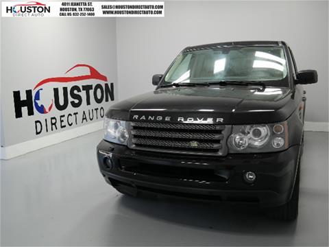 2008 Land Rover Range Rover Sport for sale in Houston, TX